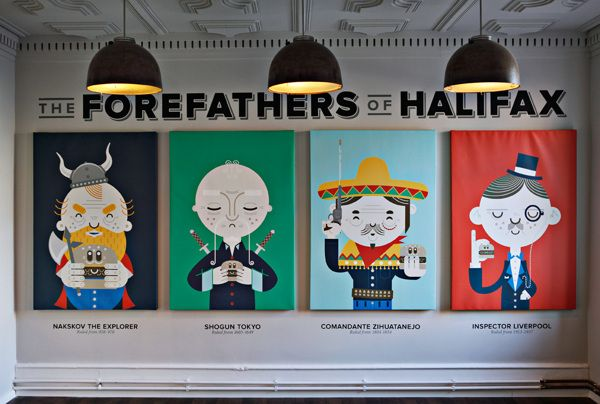 Halifax Forefathers on Behance