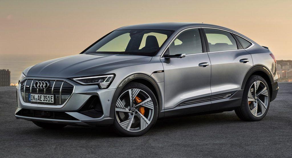 New Audi E Tron Sportback That S More Like It Carscoops In 2020 Audi E Tron Audi E Tron