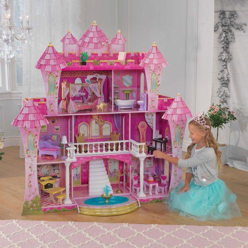 Kidkraft Far Far Away Dollhouse Costco 50 Cheaper Than Target Doll House Barbie Kitchen Wooden Dollhouse