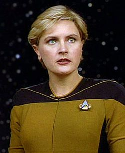 Lieutenant Natasha Tasha Yar Played By Denise Crosby Is A