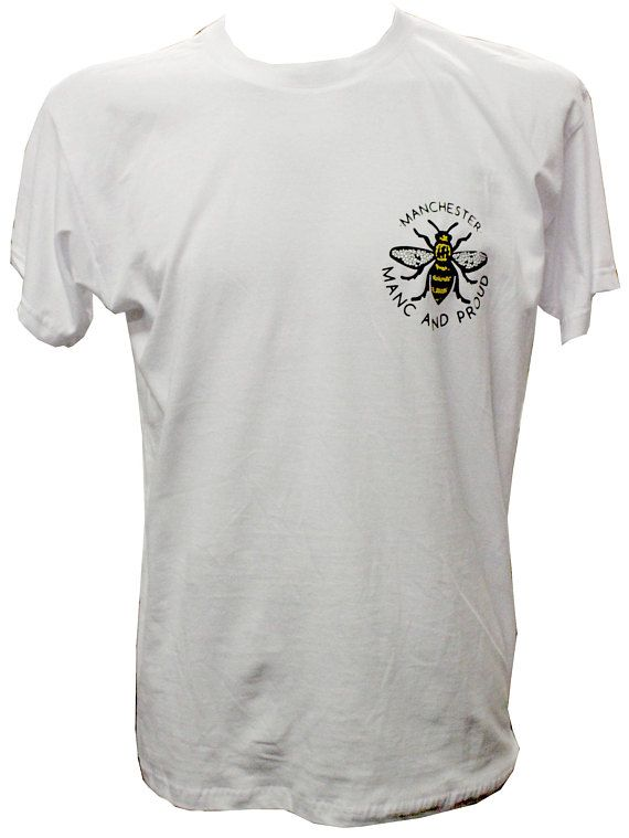 73279558a White Honorary Manc Manchester Bee T-Shirt | Manc and Proud | Extreme  Largeness | Mens tops, Fashion, T shirt