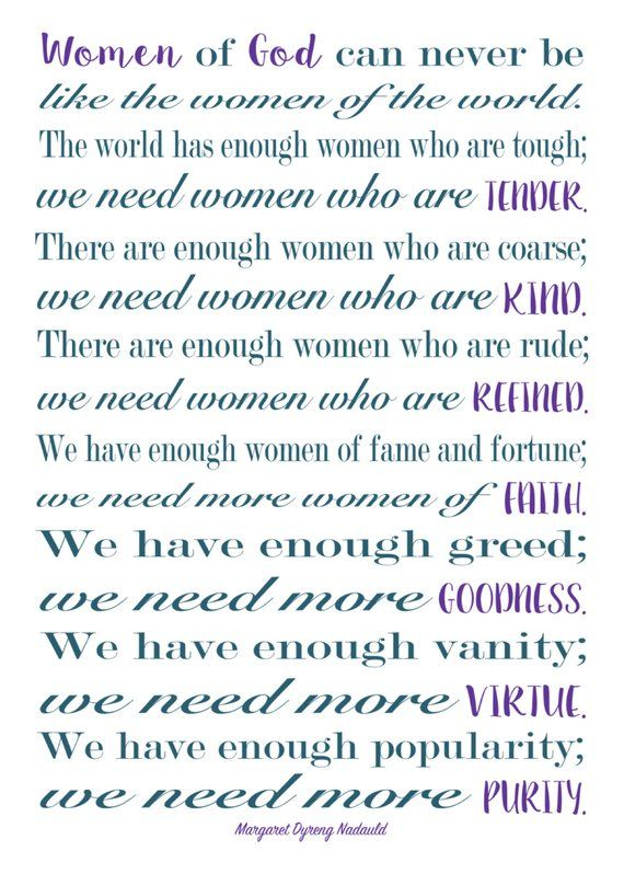 5x7 Women of God quote by Margaret Nadauld | Quotes about ...