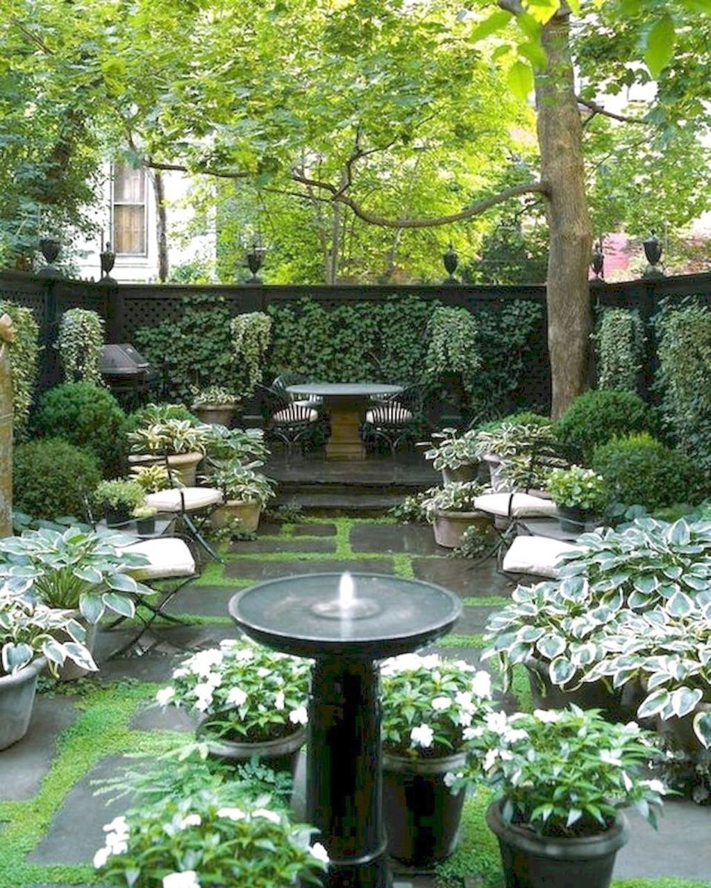 Beautiful Small Courtyard Gardens That You Definitely Want To Have #smallcourtyardgardens
