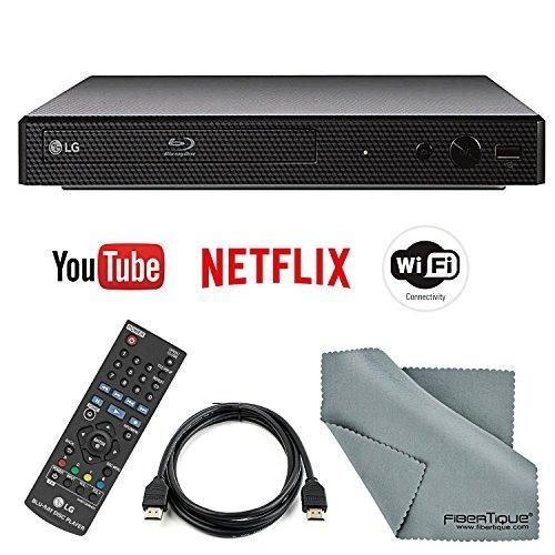 LG Electronics BP350 Smart BluRay Disc Player and HDMI