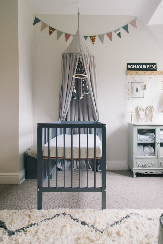 The Nursery Tour - Rock My Style | UK Daily Lifestyle Blog | Nursery Canopy, Blue Nursery Boy, Baby Nursery Inspiration