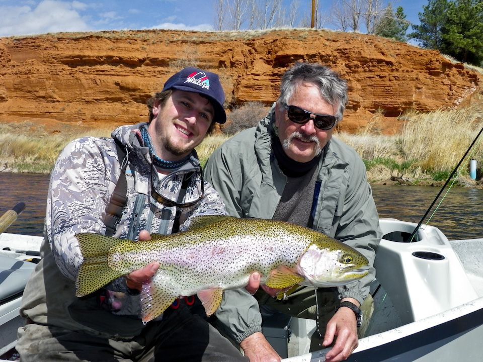 Another Big Wyoming Rainbow Trout From The Bighorn River In Thermopolis Wyoming Rainbow Trout Wyoming Fly Fishing