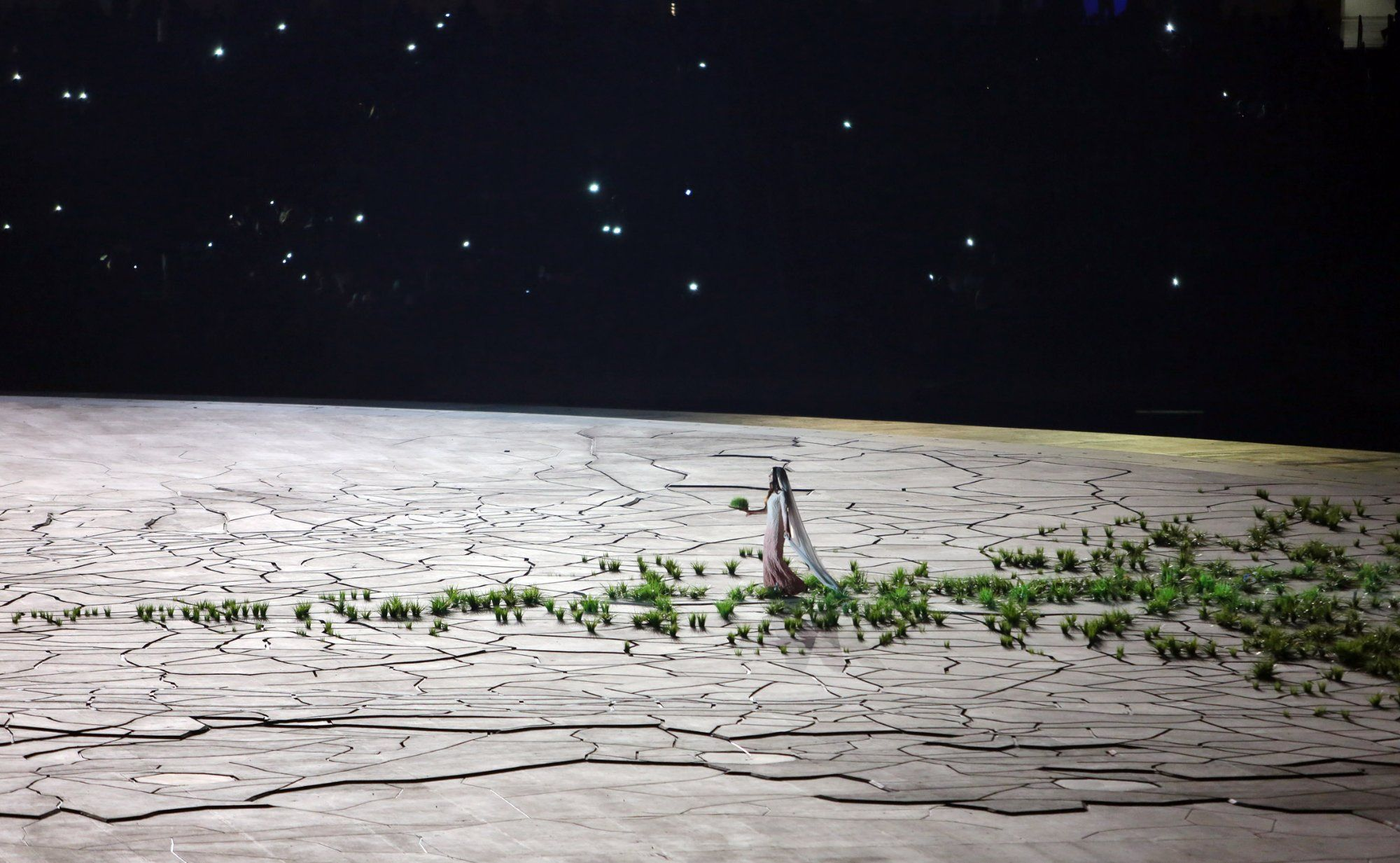 Grass Path, created by NEWSUBSTANCE for the 2015 European Games Opening Ceremony held in Baku,