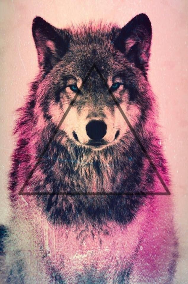 Illuminati Wolf and Triangle.