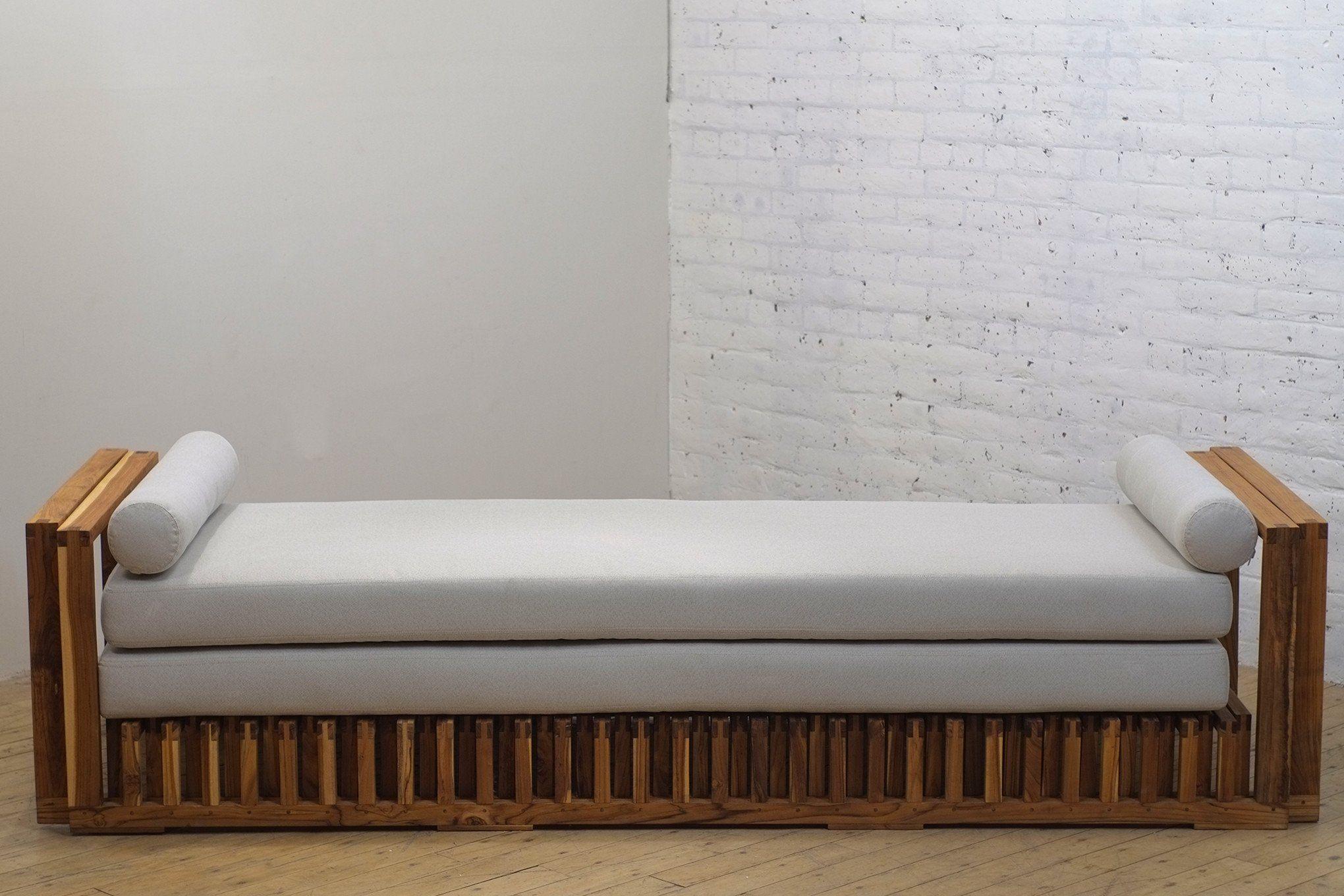 Rekal Daybed Wood Bed Design Luxury Bedroom Furniture Daybed