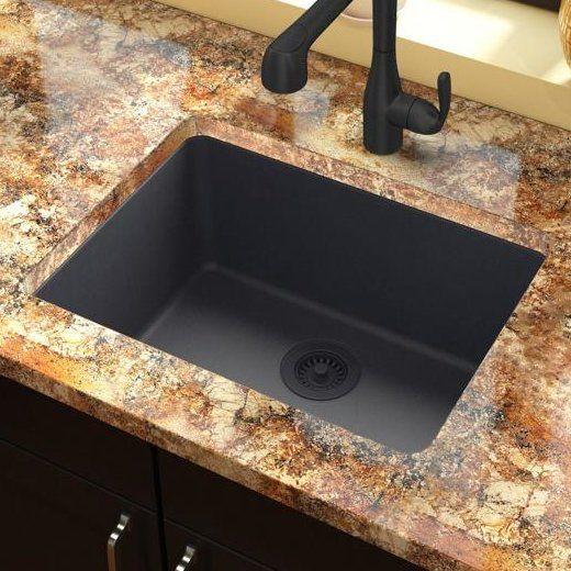 Quartz Classic 25 L X 19 W Undermount Kitchen Sink Undermount