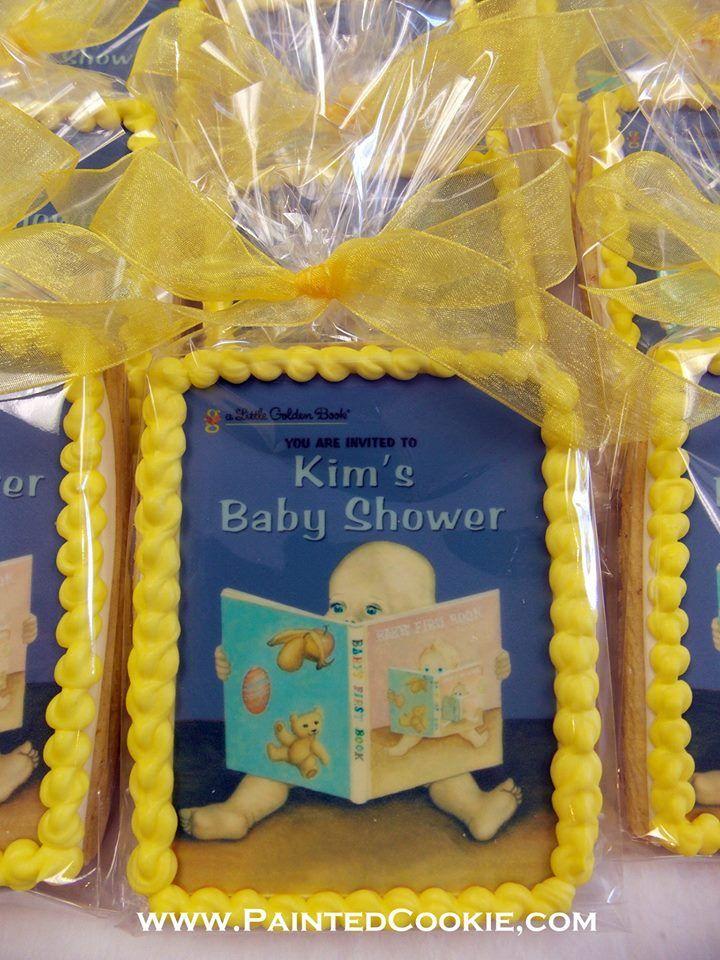 Edible Image Golden Book Favors