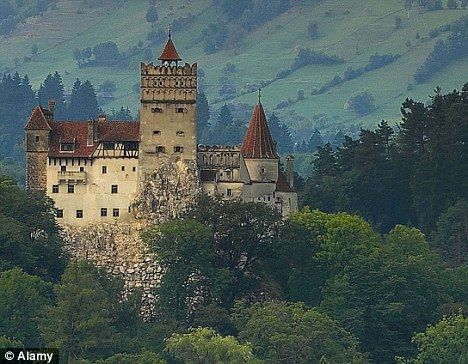 Bran Castle, Home Of Vlad Tepes (Dracula) In The Carpathian Mountains. Idea