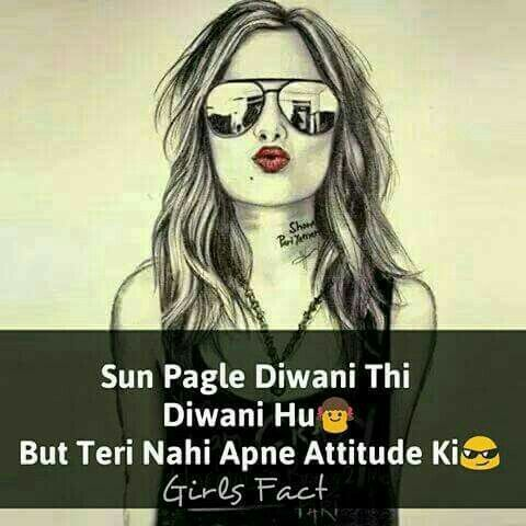 Hassanツ😍😘 f Attitude quotes Attitude Girl attitude Magnificent Girl With Attitude Quotes