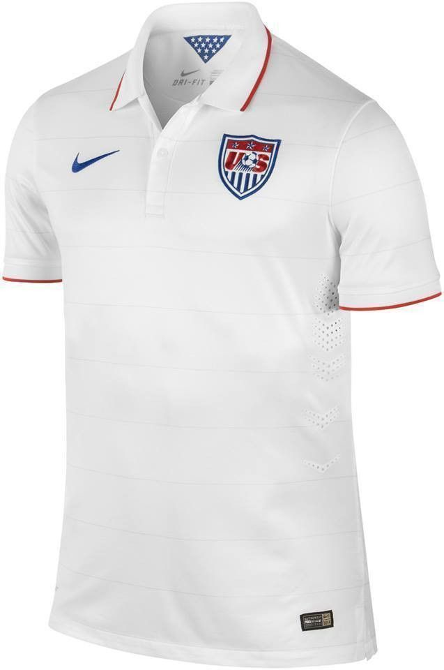 cfd20f40c NIKE MICHAEL BRADLEY US SOCCER TEAM AUTHENTIC HOME JERSEY FIFA WORLD CUP  BRAZIL 2014 PLAYER ISSUE VERSION. INCLUDES AUTHENTIC PLAYER PRINTING
