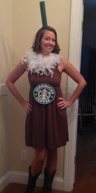 Starbucks Coffee Costume....cute!  sc 1 st  Pinterest & Starbucks Coffee Costume....cute! | halloween | Pinterest ...