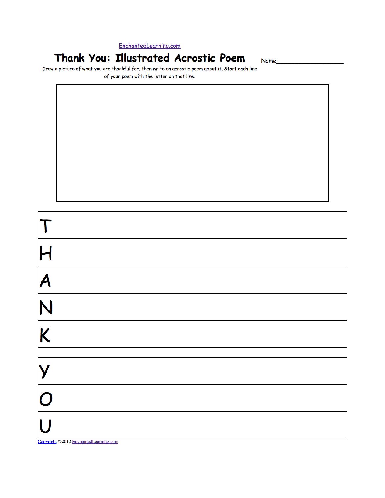 worksheet Gratitude Worksheets thanksgiving crafts worksheets and activities enchantedlearning
