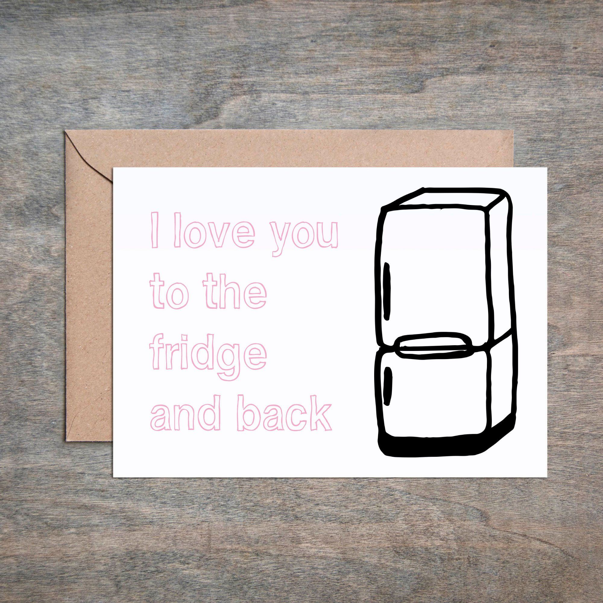Anniversary Funny Birthday or Valentine/'s Day Card -for Husband Wife,