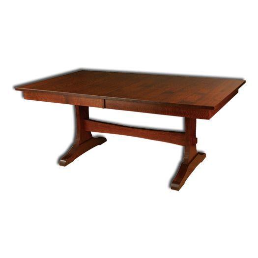 Amish Wasilla Trestle Table Trestle Table Table