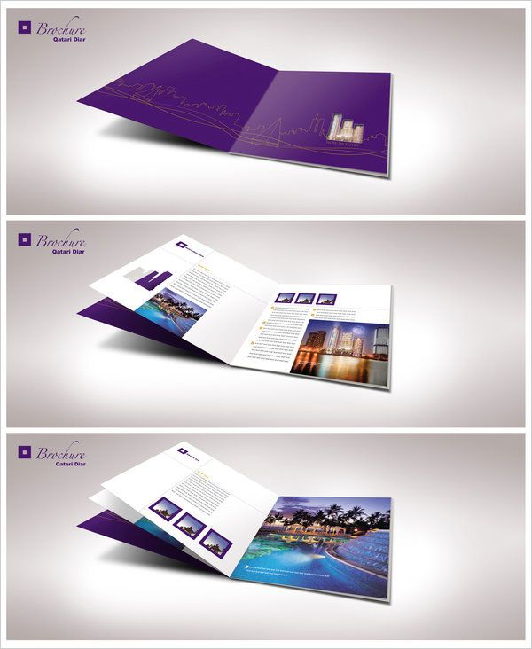 Simple Yet Beautiful Brochure Design Inspiration  Templates