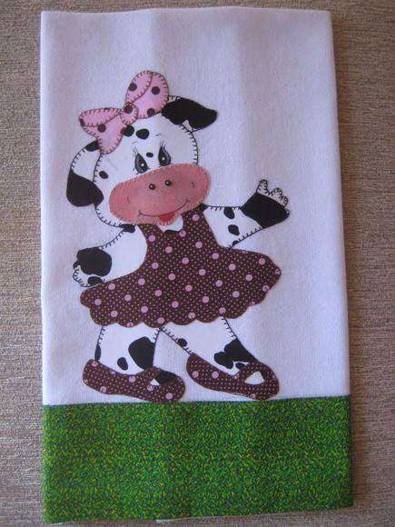 Vaca bailarina   Feito por mim Milene   Elo7