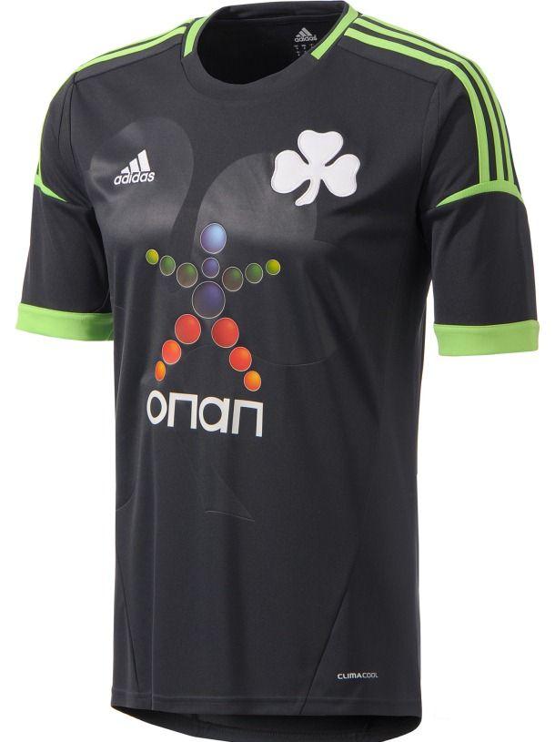 Panathinaikos Away Kit 2012-13 Adidas  dd049601eee6e