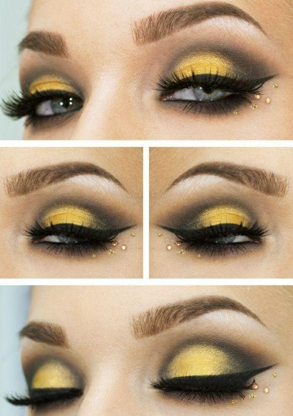 Augen Make Up Schritt Für Schritt So Schminken Sie Ihre Augen