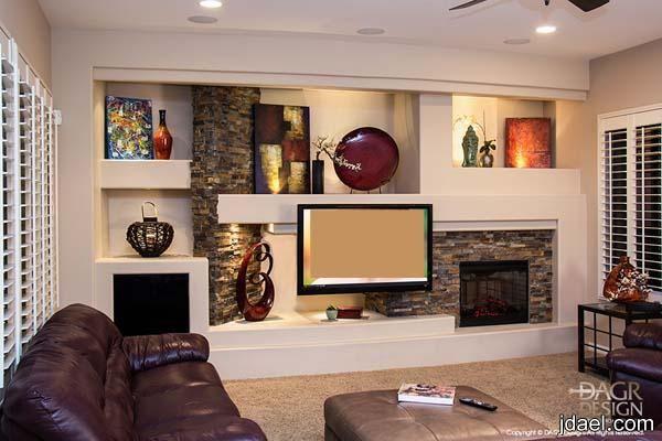 تصاميم جبس لشاشة البلازما والتلفزيون وافخم الرفوف للجدار لغرفة المعيشه منتدى جدايل Home Entertainment Centers Wall Entertainment Center Home
