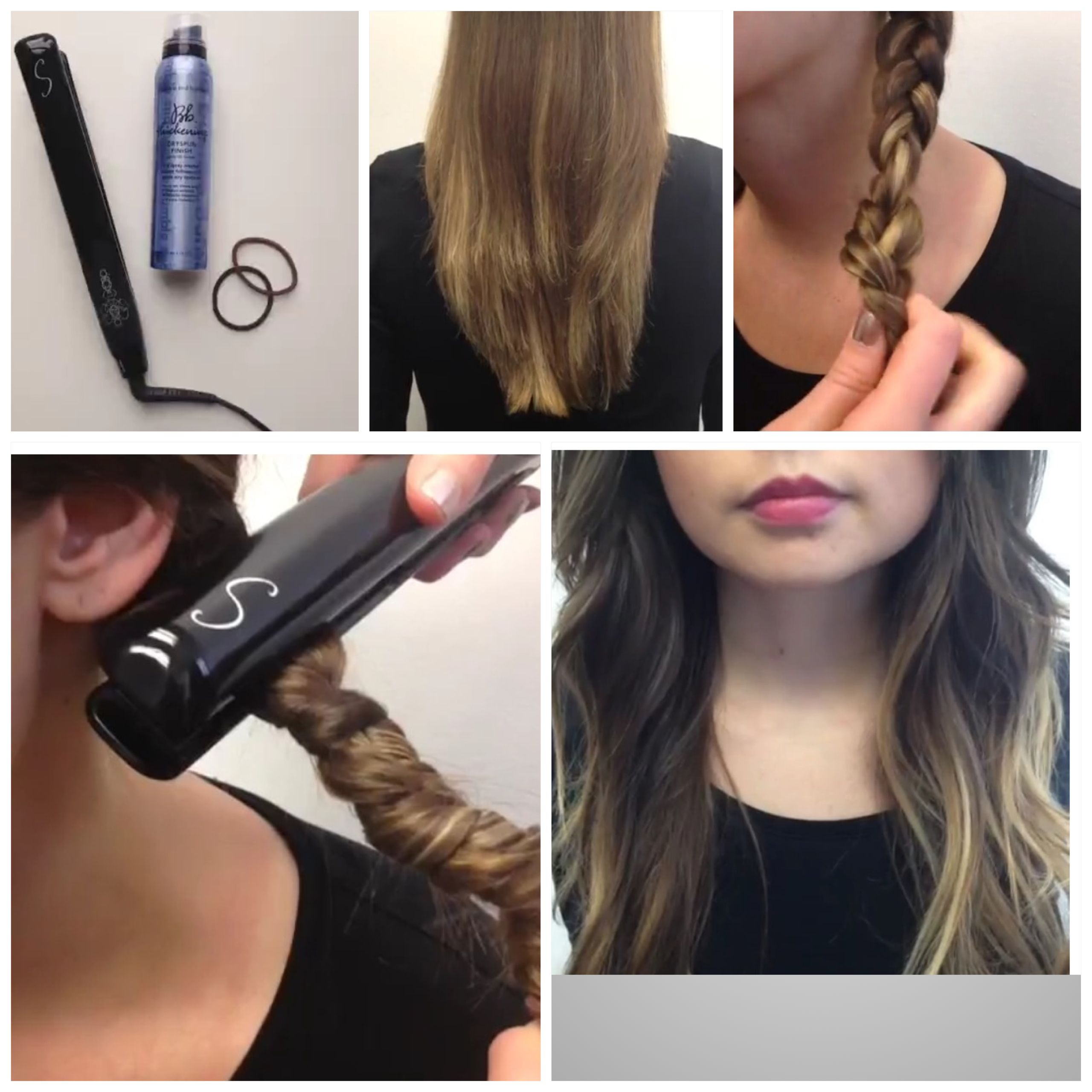 For Naturally Straight To Slightly Wavy Hair You Need A Flatiron