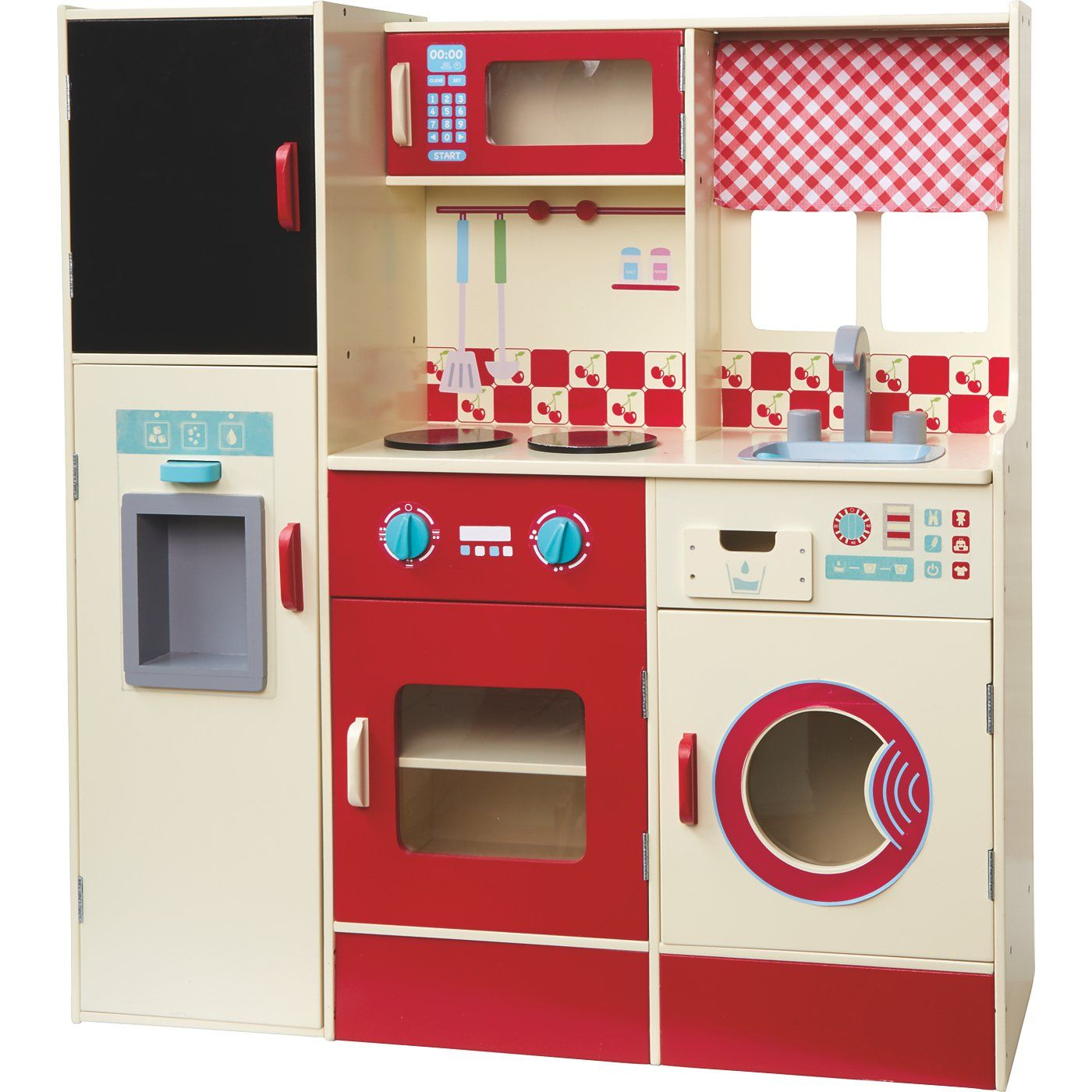 George Home Wooden Kitchen and Laundry Set  Kids  ASDA Direct