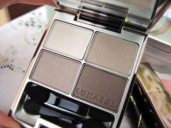 Lunasol Cool Sand Eyeshadow Palette