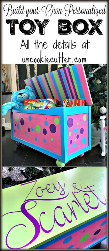 Toy Box A Homemade Gift Diy Project With Images Diy Toy Box