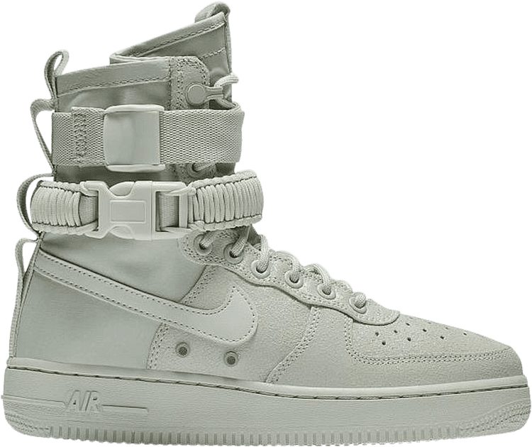 Wmns Sf Air Force 1 High Mica Green Nike 857872 006 Goat Air Force 1 High Combat Boots Nike Air Force