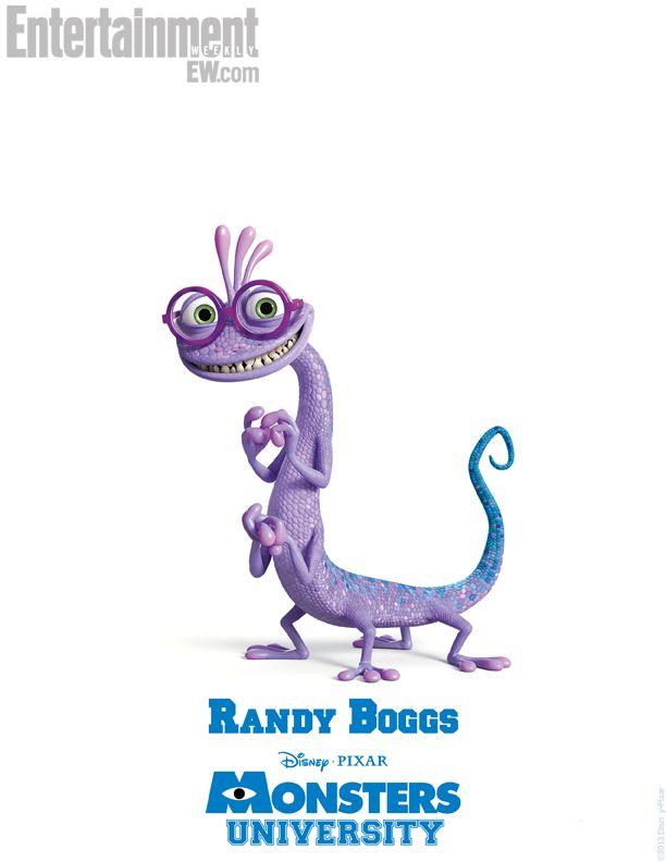 Monsters University Character Poster Randall Boggs Monster University Disney Monsters Monsters Inc