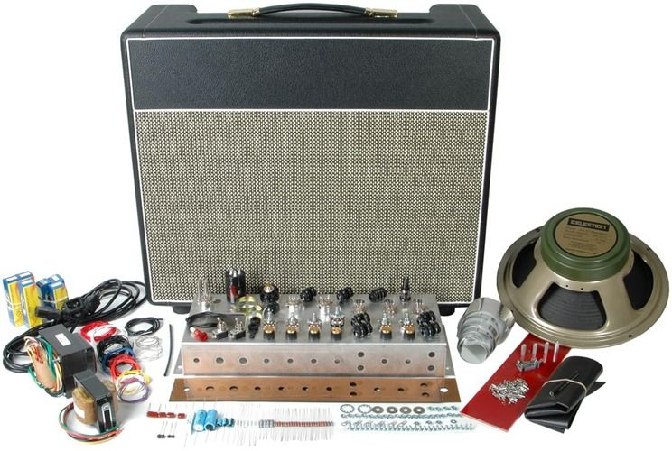 Classic british 18w tube guitar amp kit 1x12 combo