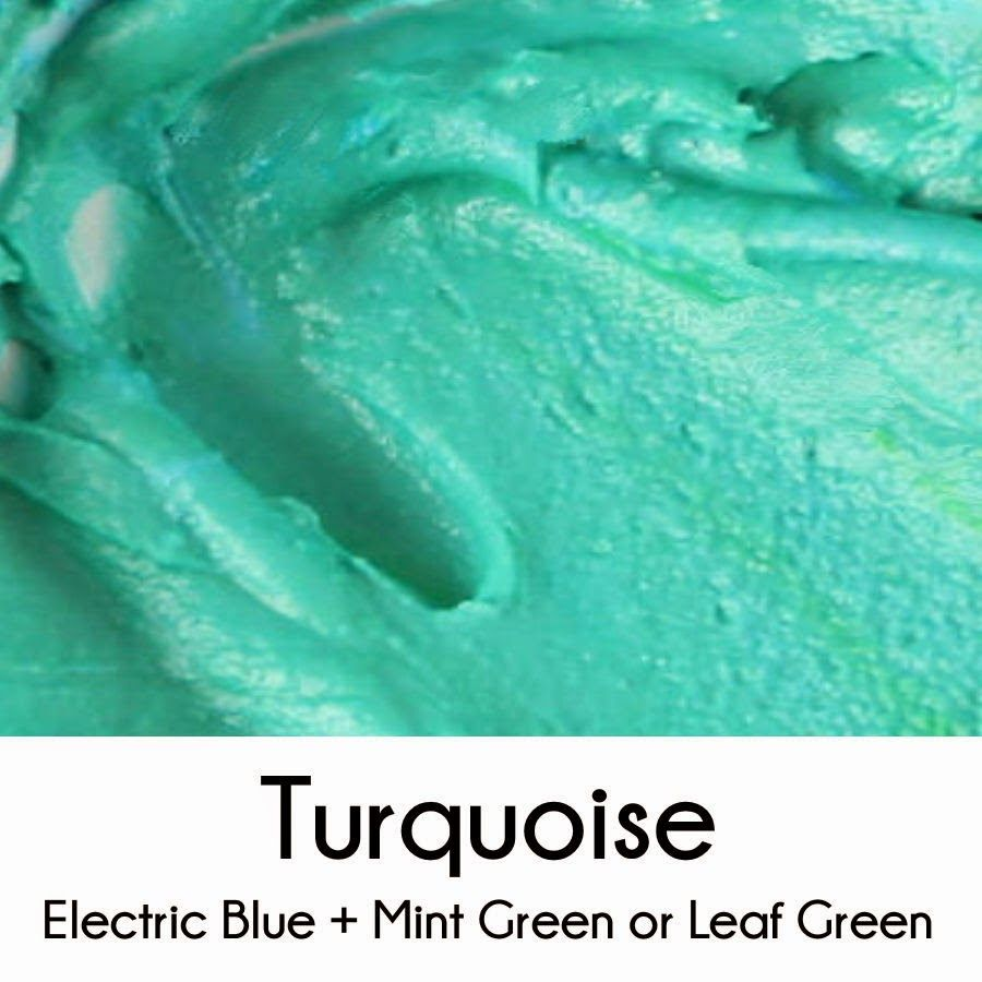 How To Make Turquoise Royal Icing Royal Icing Color Icing Colors