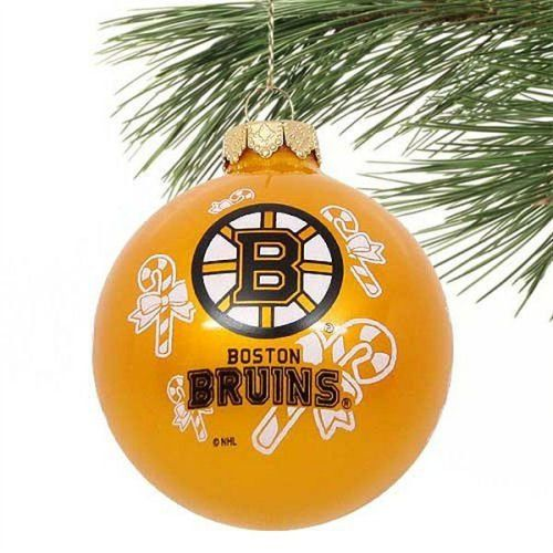 BOSTON BRUINS OFFICIAL TEAM LOGO GLASS BALL CHRISTMAS ORNAMENT by Boston.  $9.94. Boston Bruins fans will love adding some team spirit to their tree  with ... - BOSTON BRUINS OFFICIAL TEAM LOGO GLASS BALL CHRISTMAS ORNAMENT By