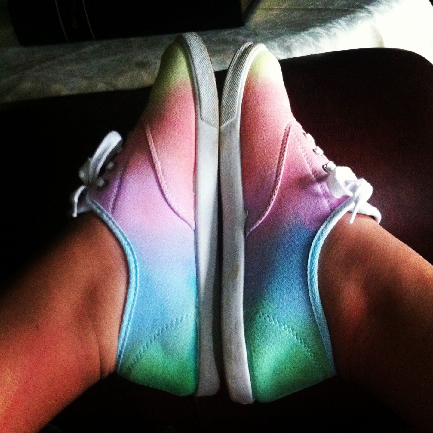 Diy Tie Dye Canvas Shoes With Images