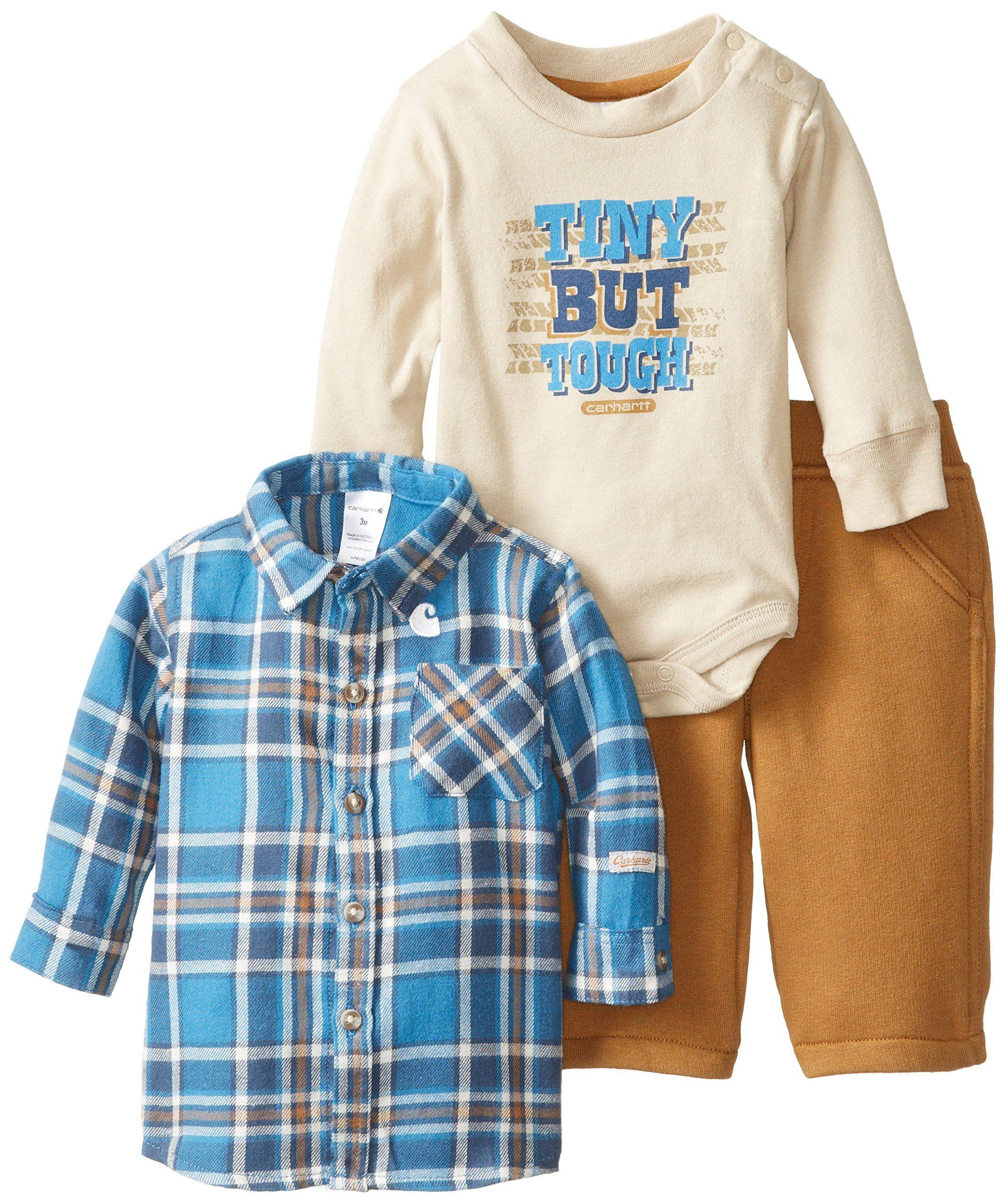 Baby Boys Clothing Set 3PC Football Bodysuit Hat Pants Gift Set NB-3M 3-6M 6-9M