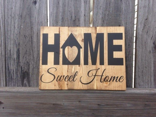 Home Sweet Home  Solid Wood Sign  $20 plus shipping