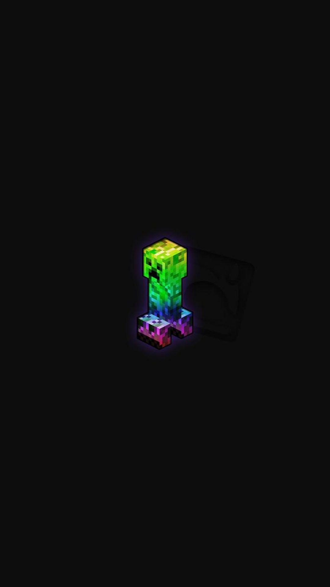 Creeper Minecraft Iphone Background In 2020 Minecraft Wallpaper Iphone Background Creeper Minecraft