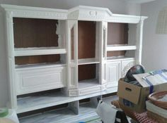 vorher nachher der esszimmerschrank wohn essbereich gestaltung pinterest schrank eiche. Black Bedroom Furniture Sets. Home Design Ideas