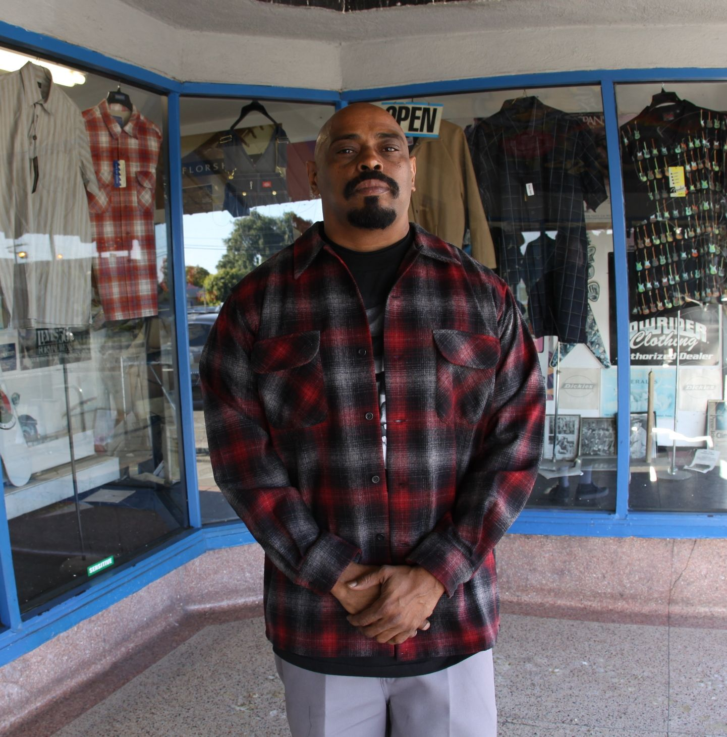 Sen Dog of Cypress Hill. He represents in Pendleton. Photo courtesy of  Greenspan s 63462cc84ce