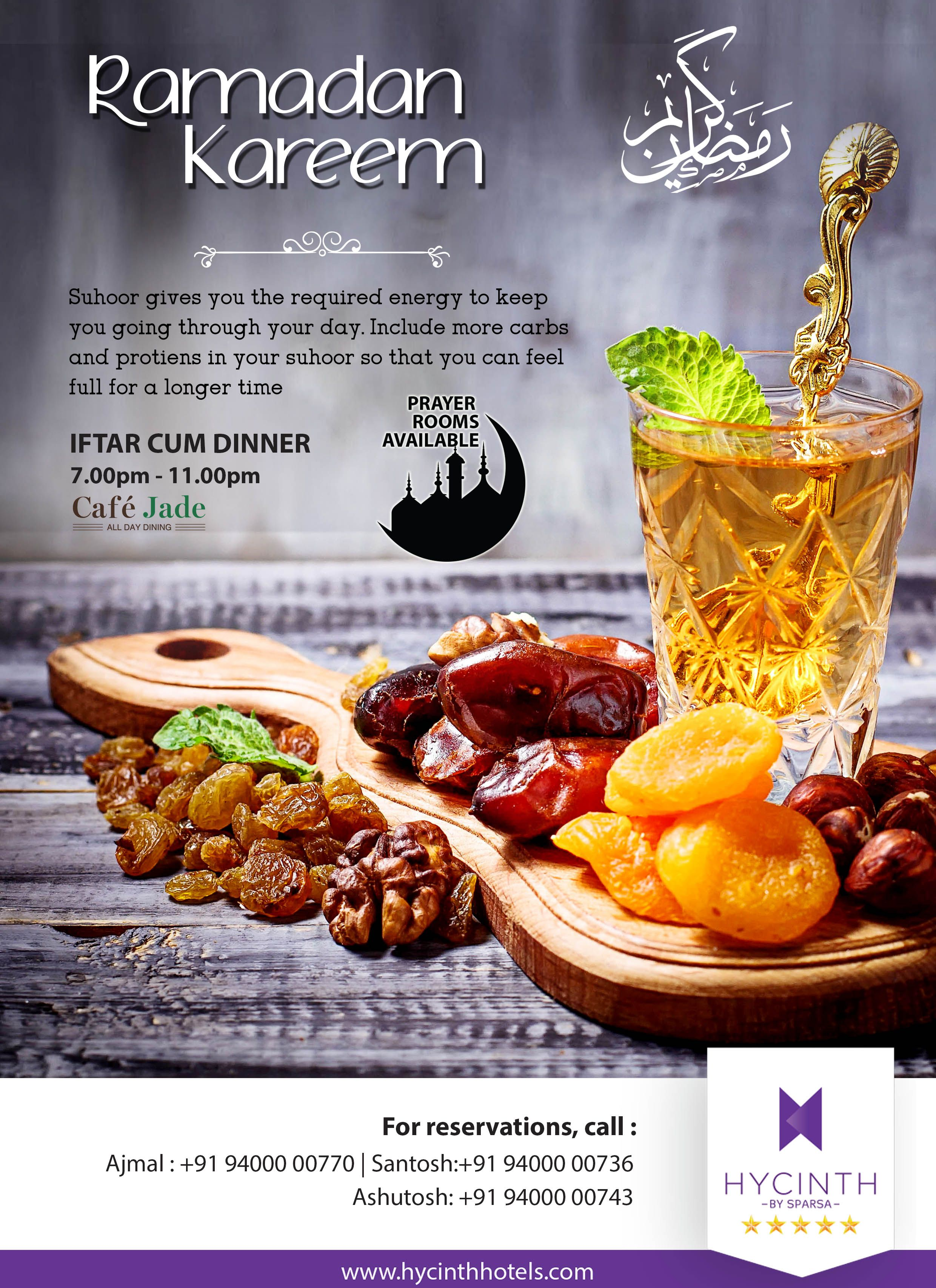 Wishing you and your family happy and blessed holy month of ramadan ramadan iftar hycinth familytime cafejade