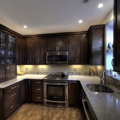 House also kashmir white granite dark cabinets design pictures remodel rh za pinterest
