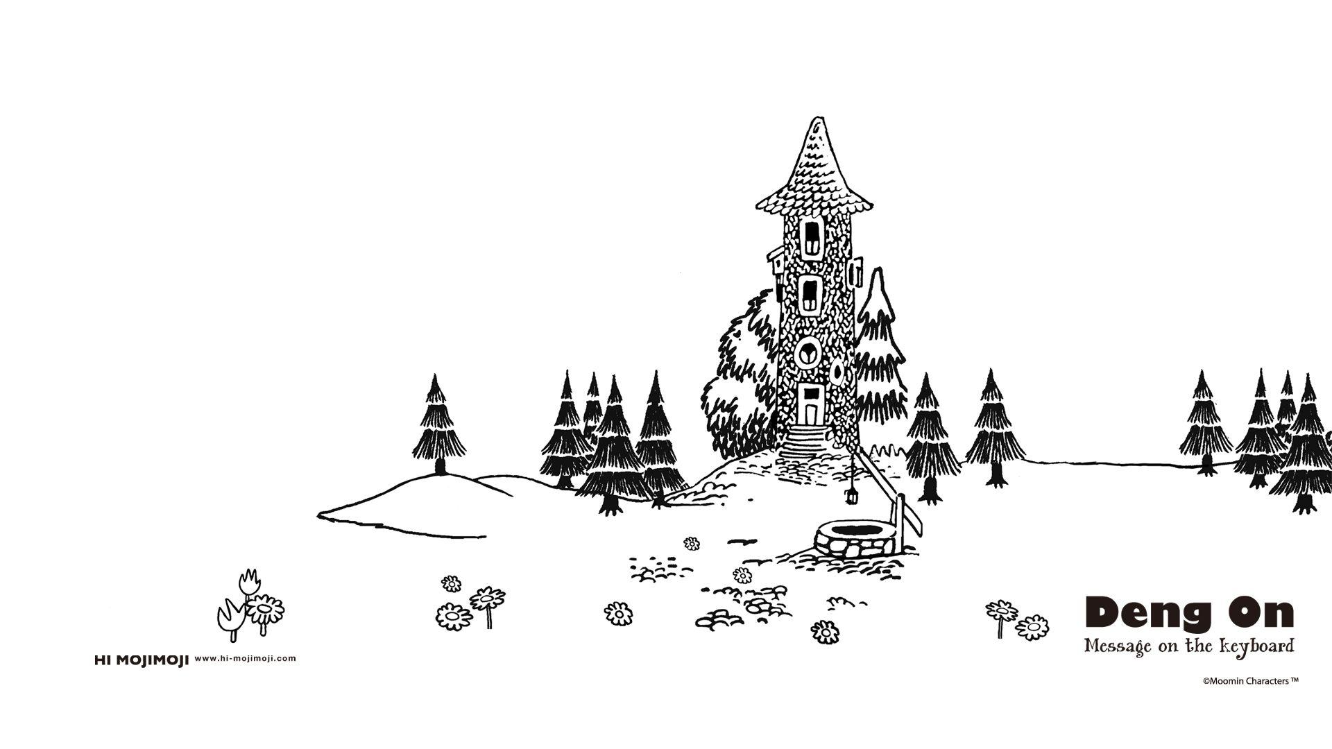 All Things Moomin スナフキン 壁紙 ムーミン公式サイト 壁紙