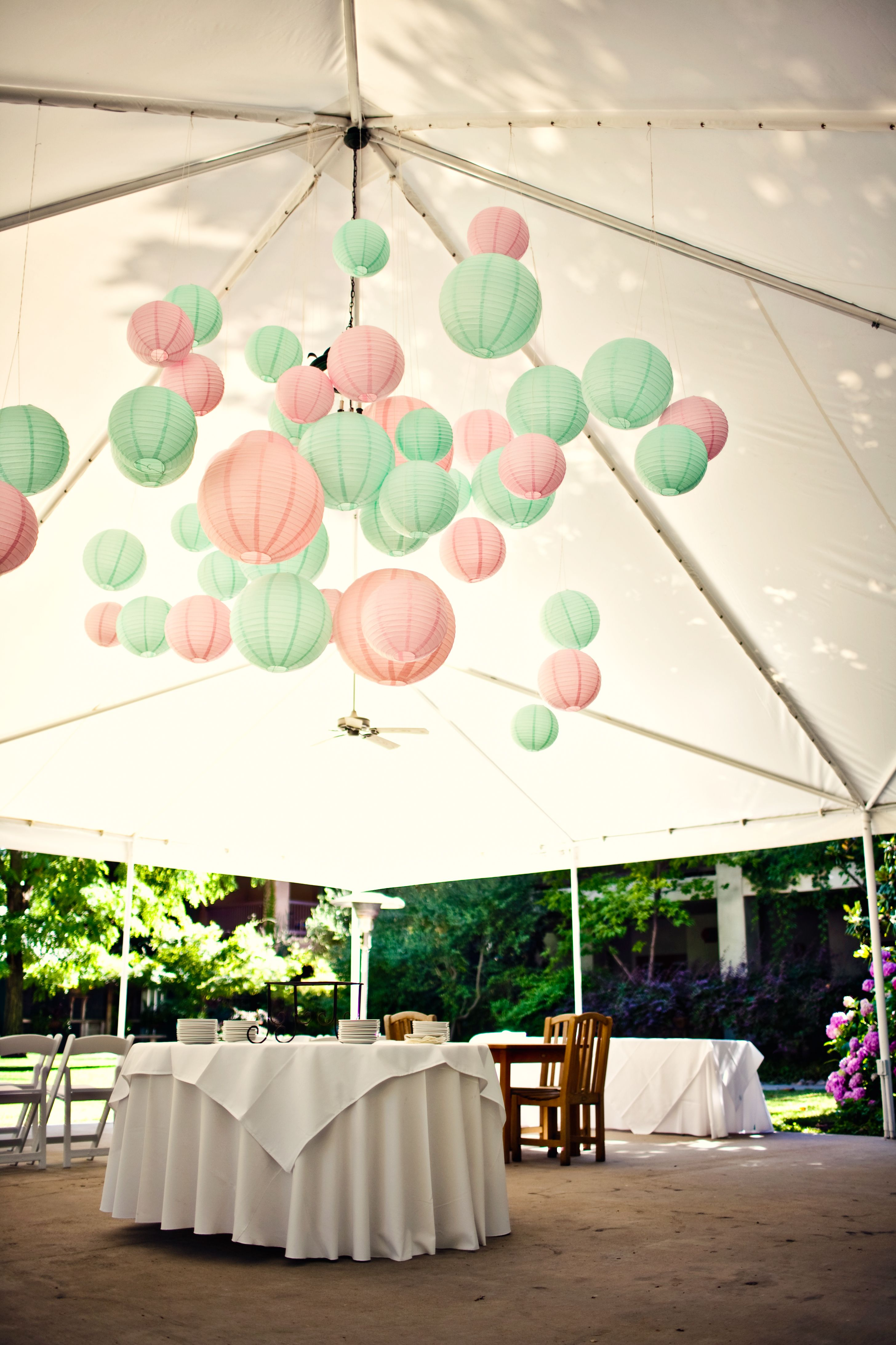 50 Paper Lantern Ideas For Your Wedding Tressy S Weddng Outdoor Wedding Decorations Wedding Decorations Tent Decorations