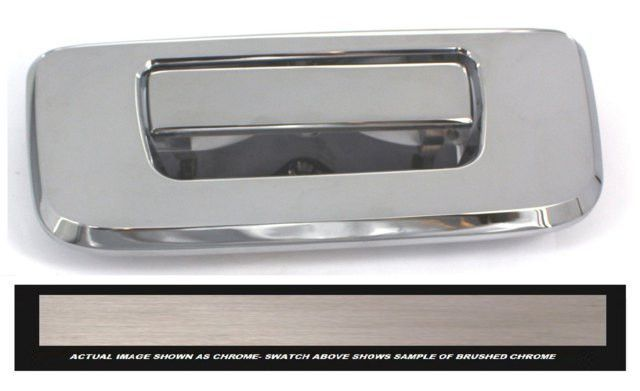 All Sales Brush Chrome Tailgate Assembly Chrome Tailgating All Sale