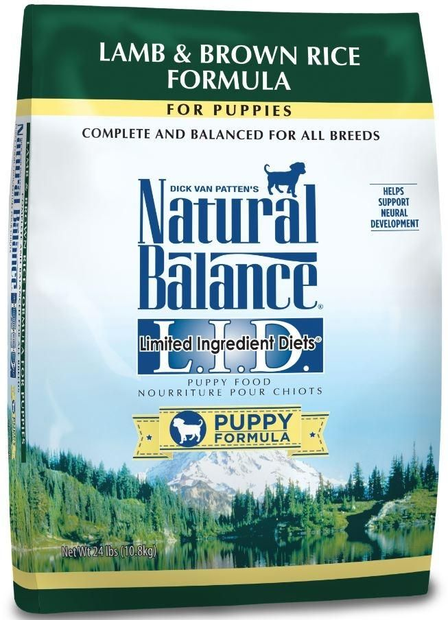 Natural Balance L I D Limited Ingredient Diets Lamb And Brown