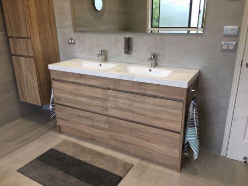Billige Badezimmermöbel ~ Die besten 25 double vanity unit ideen auf pinterest bessere