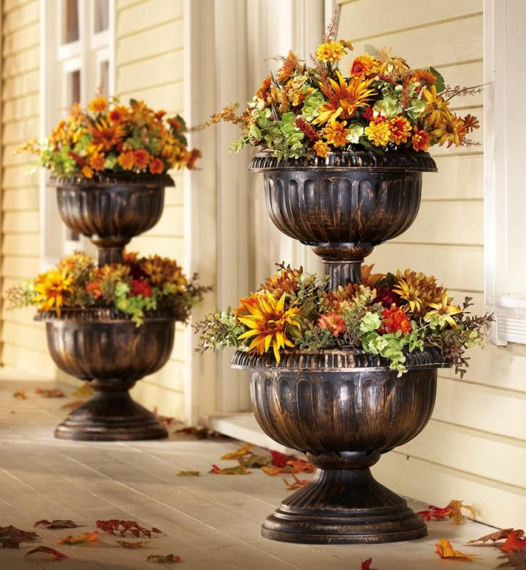 Perfect Tiered Planter Urn Planters Planters